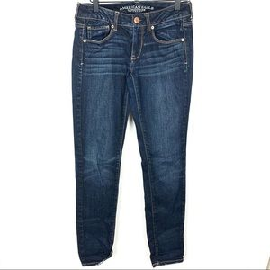 American Eagle | Skinny Stretch Distressed Jeans
